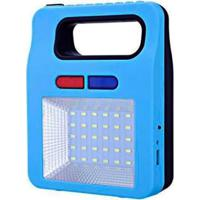 Lâmpada Luminária Lanterna Painel Solar Luz Led Emergência Usb Pesca Pescaria Camping - Unissex