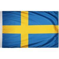Bandeira Suécia Torcedor 2 Panos