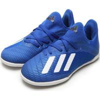 Chuteira Adidas Performance Menino X 19 3 In Jr Azul