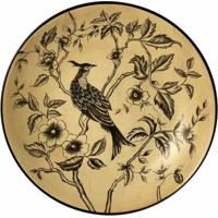 Prato De Parede Decorativo De Porcelana Saken