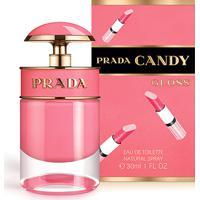 Perfume Feminino Candy Gloss Prada Eau De Toilette 30Ml - Feminino