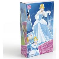 Quebra-Cabeça Com Contorno - Disney - Princesas - Cinderela - Grow - Feminino-Incolor