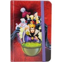 Caderno De Anotações Vilões Da Disney - Zona Criativa