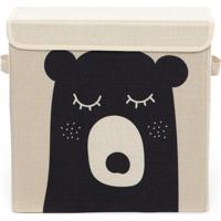Caixa Organizadora Infantil Com Tampa - Urso Bubi