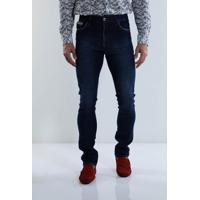 Calça Jeans Justa Masculina - MuccaShop b315cc71e4ab9
