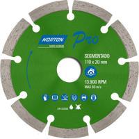 Disco Diamantado Para Corte Concreto Norton Pro Segmentado, 180 Mm