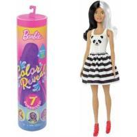 Boneca Barbie Estilos Surpresa Color Reveal Mattel - Feminino-Rosa