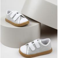 Tênis Infantil Sonho De Criança Com Velcro Cinza