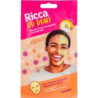Máscara Facial Ricca Revitalizante E Energizante Up Real! 28G