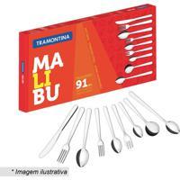 Faqueiro Malibu- Inox- 91Pã§S- Tramontinatramontina