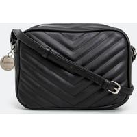 Bolsa Transversal Camera Bag Em Matelassê