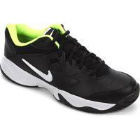 Tênis Nike Court Lite 2 Masculino - Masculino-Preto