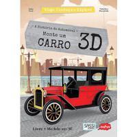 Viaje, Conheça E Explore: Monte Um Carro 3D - Autor: Crieditora Nobel