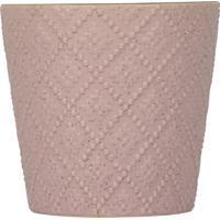 Vaso Kasa Ideia De Cerâmica Betine Rosa 12X13Cm