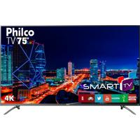 "Tv 4K Led 75"" Netflix Philco Bivolt Ptv75E30Dswnt"