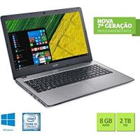 Notebook Acer F5-573G-519X Intel Core I5 8Gb Ram 2Tb Hd Geforce 940Mx 2 Gb 15.6 Windows 10