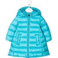 Moncler Kids Majeure Coat - Azul