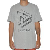 Camiseta Dropdead Triangle Cinza