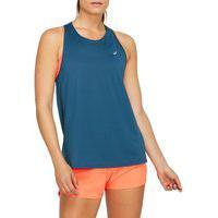 Camiseta Regata Asics Race - Feminino - Azul