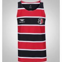 Camiseta Regata Do Santa Cruz 2016 Penalty - Masculina - Preto/Vermelho