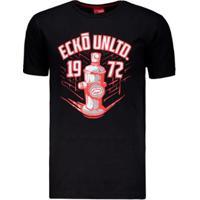 Camiseta Ecko Logo Estampada Masculina - Masculino