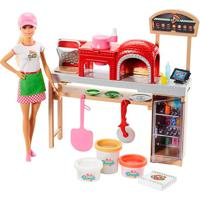 Barbie Pizzaiola Playset - Mattel - Kanui