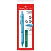 Lapiseira 0.7Mm - Poly - Azul - Faber-Castell