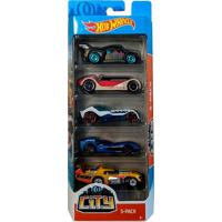 Pack 5 Carrinhos Hot Wheels City - Mattel - Kanui