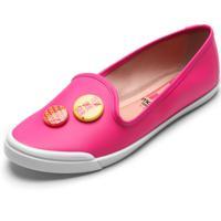 Slipper Moleca Botons Pink
