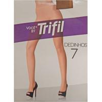 Meia-Calça Dedinhos De Fora Invisível Fio 7 Feminina Trifil