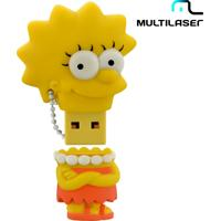Pen Drive Simpsons Lisa - Multilaser - 8Gb De Memória - Pd072