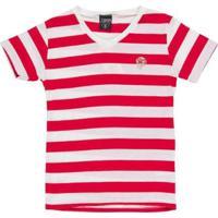 Camiseta Tigor T. Tigre Infantil Masculina - Masculino-Branco