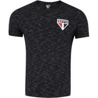 Camiseta Do São Paulo 18 Tricolor - Masculina - Preto