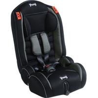 Cadeira Para Auto Young Yper Preta/Cinza