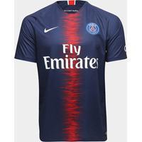 Camisa Paris Saint-Germain Home 18/19 S/N° Torcedor Nike Masculina - Masculino