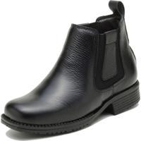 Botina Infantil Atron Shoes Kids 3702 Preto