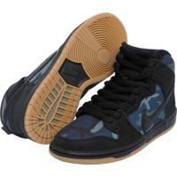 Tênis Nike Sb Dunk High Pro Preto 4f3c4af828515