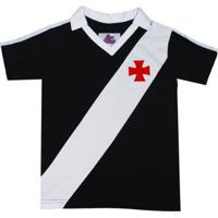 Camisa Polo Liga Retrô Vasco 1989 Infantil Masculina - Masculino