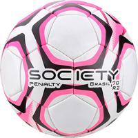 Netshoes  Bola De Futebol Society Penalty Brasil 70 R2 Lx - Unissex d70cd0b08e19c