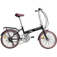 Bicicleta Dobrável Blitz Alloy Aro 20 Shimano - Unissex