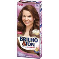 Coloração Sem Amônia Brilho E Ton 67 Chocolate Natural Niely