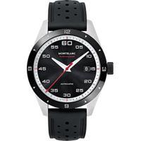 Vivara  Relógio Montblanc Masculino Borracha Preta - 116059 343a1e7082
