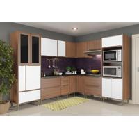 Cozinha Completa Metin 19 Pt 4 Gv Nogueira E Branco