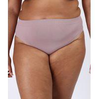 Calcinha Lupo Plus Size Básica Sem Costura Nuage