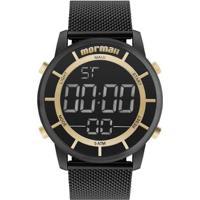 Relógio Digital Mormaii Sunset - Feminino-Preto