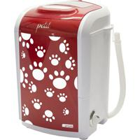 Maquina Lavar Petit Pet Vermelho