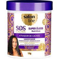 Ativador De Cachos Salon Line - S.O.S Cachos - Nutritivo - 1Kg - Unissex-Incolor