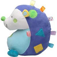 Brinquedo De Pelúcia Storki Porco Espinho Azul