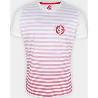 Camiseta Internacional Scratch Masculina - Masculino-Branco