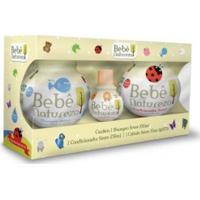 Kit Shampoo + Condicionador Bebê Natureza Suave Biotropic 230Ml Grátis Colônia 30Ml